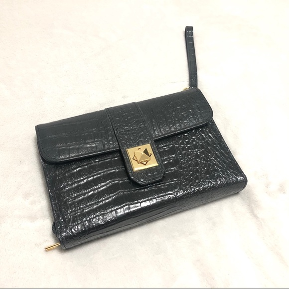 N/A Handbags - Genuine Leather Jewelry Organizer Wristlet Pouch